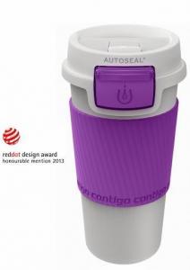 Termos Morgan Contigo AutoSeal Plastic Lilac 360ml