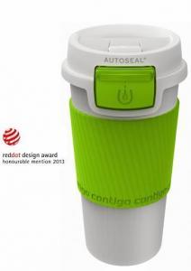 Termos Morgan Contigo AutoSeal Plastic Citron 360ml