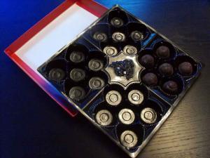 Chese bomboane de ciocolata