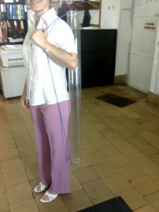 Tub transparent plastic