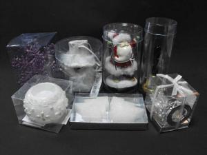 Ambalaje din plastic ornament Sarbatori
