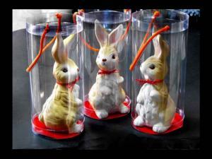 Cutii plastic cilindrice jucarii artizanale