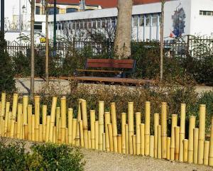Produse din bambus pentru gradina