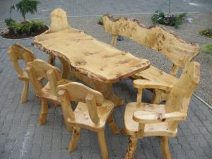 Masa lemn masiv gradina