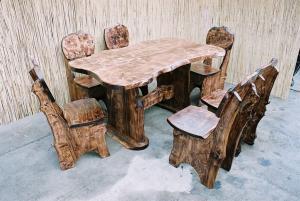 Set / garnitura de mobilier rustic