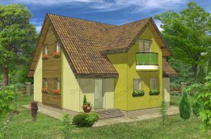 Pret casa lemn