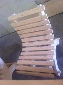 Scaune lemn exterior