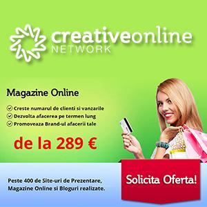 Oferta Realizare Site Magazin Online