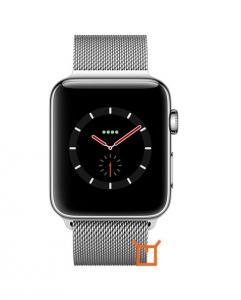 Apple Watch Series 3 42mm (GPS plus LTE) Stainless Steel Milanese Loop Argintiu