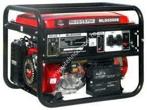 Generator curent electric MLG 6500E , putere 5.5 kVA , pornire electrica , rezervor 25 l