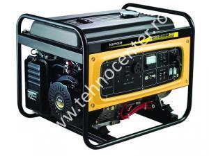 Generator de curent Kipor KGE 2500 X , putere 2.2 kVA , rezervor 25 l