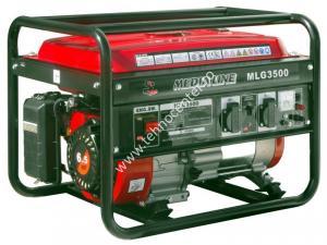 Generator curent electric MLG 3500 , putere 2.8 kVA , motor 6.5. cp , rezervor 15 l