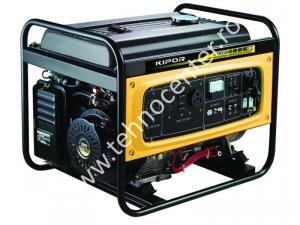 Generator electric Kipor  KGE 4000 X , putere 3.3 kVA , rezervor 30 l