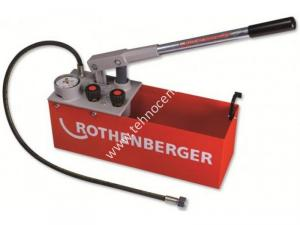 Pompa presiune pentru testul etanseitatii