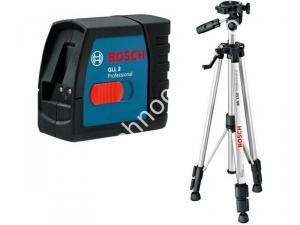 Nivela laser Bosch GLL 2 cu linii in cruce cu trepied BS 150