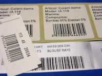 Coduri de bare (barcode)