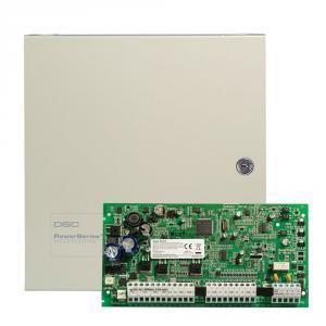 Centrala alarma antiefractie DSC Power PC 1616 NK cu cutie metalica, 2 partitii, 6-32 zone, 48 utilizatori
