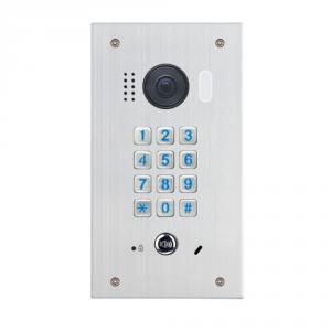 Videointerfon de exterior cu tastatura mecanica DT611F-MK-FE, 2 MP, ingropat, 170°