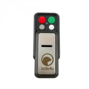 Telecomanda wireless cu 4 butoane Safe4u RO911103FB, cod saritor, 868 MHz, 250 m