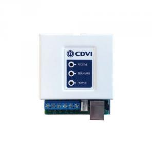 Convertor RS-485 la USB/RS-232 CDVI Centaur, conector RS-232 D-Sub 9 pini, 9.600/19.200 bps, indicator LED