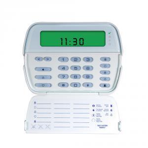 Tastatura LCD icon cu modul wireless DSC RFK5501, 64 zone, 8 partitii, 32 zone radio