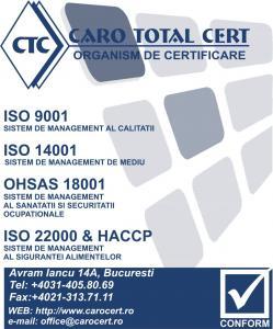 Certificare ohsas 18001