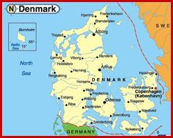 Transport marfa Danemarca