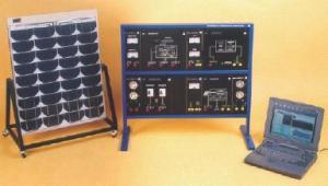 Echipament didactic modular destinat studiului teoretic si practic al sistemelor fotovoltaice - SOLARINFO-80B