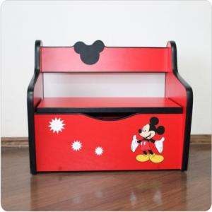 Bancuta copii Mickey Mouse HSOM - cu spatiu de depozitare
