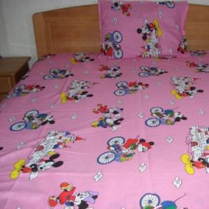 Lenjerii de pat copii Mickey Mouse la plimbare HSL 1245
