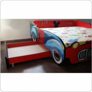 Pat copii dublu cu sertare - realizabil pentru orice model de pat HSOM