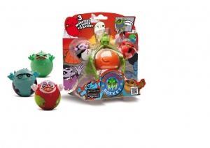 Baschet cu monstrii - 3 figurine Monster Basket plus cosul de baschet