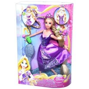Rapunzel cu mai multe stiluri de coafura + piaptan si instructiuni de coafat