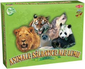 Jocuri de societate cu Animale Salbatice ale Lumii (RO)