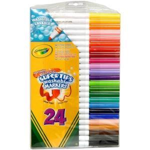Carioci Supertips Washable de la Crayola (Set 24 buc)