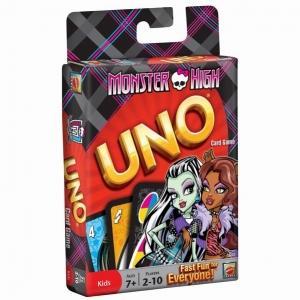 Carti pentru UNO: Carti de joc UNO Monster High