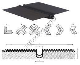 Profile hidroizolare pentru acoperis Nitriflex Serie51
