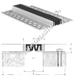 Profile dilatatie din metal pentru pardoseli