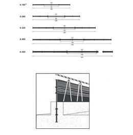 Profile hidroizolante interne, negre, DIN 18541