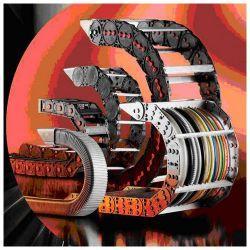 Lant portcablu metalic