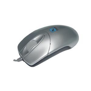 Mouse A4TECH BW-27, USB/PS2, gri