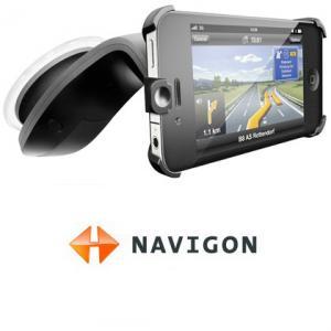 Suport pentru iPhone 4 de la NAVIGON