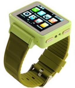 WATCH Mobile K1 Sport: Telefon in forma de CEAS -verde
