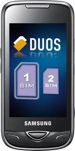 SAMSUNG B7722i: Video Telefon Dual SiM 3G cu WiFi, meniu limba ROMANA, ORIGINAL -negru