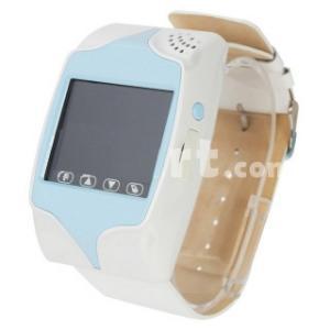 BABY WATCH M8-GPS: Telefon in forma de ceas pentru copii -albastru