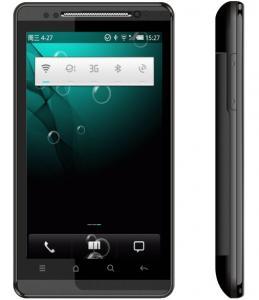 IGlo Aquila A801: Smartphone Dual SiM 3G cu Android ver.2.3.4 -negru