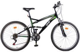 Bicicleta mountain bike full suspension DHS 2442 Climber 18 viteze model 2013, copii 8-10 ani