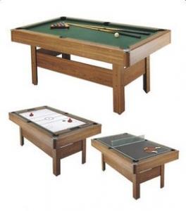 Masa cu 3 jocuri 382IN: billiard, hochei, tenis de masa