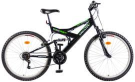 Bicicleta mountain bike full suspension KREATIV DHS 2641 Rocket 18viteze 2013