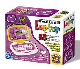 D Toys - Laptop Evoline (bilingv, 68 functii)